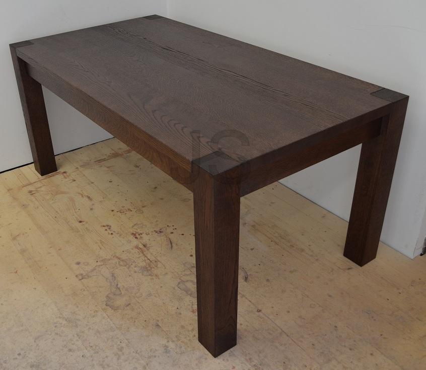 Jedálenský stôl z masívu - Obrázok č. 2