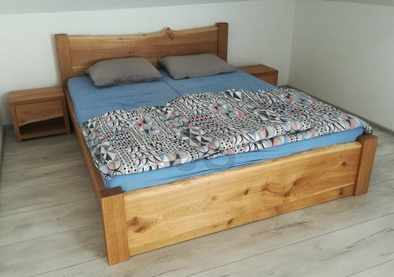 Spokojní zákazníci - TAMARA - dub prírodný kartáčovaný, úložné šuplíky, 2x nočný stolík (Kysucké Nové Mesto)