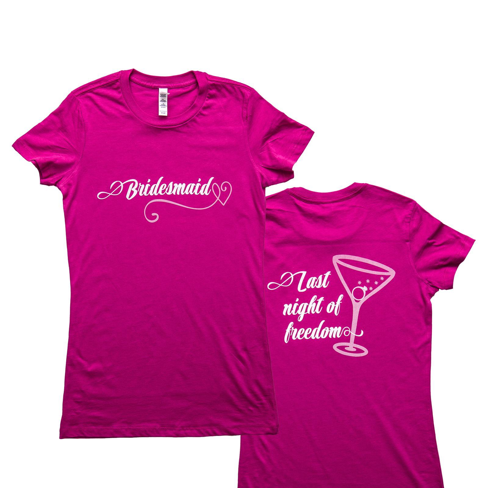 Nevestička a Ženích ♥ - trička na želanie podľa vlastných predstáv - Tričká na rozlúčku so slobodou