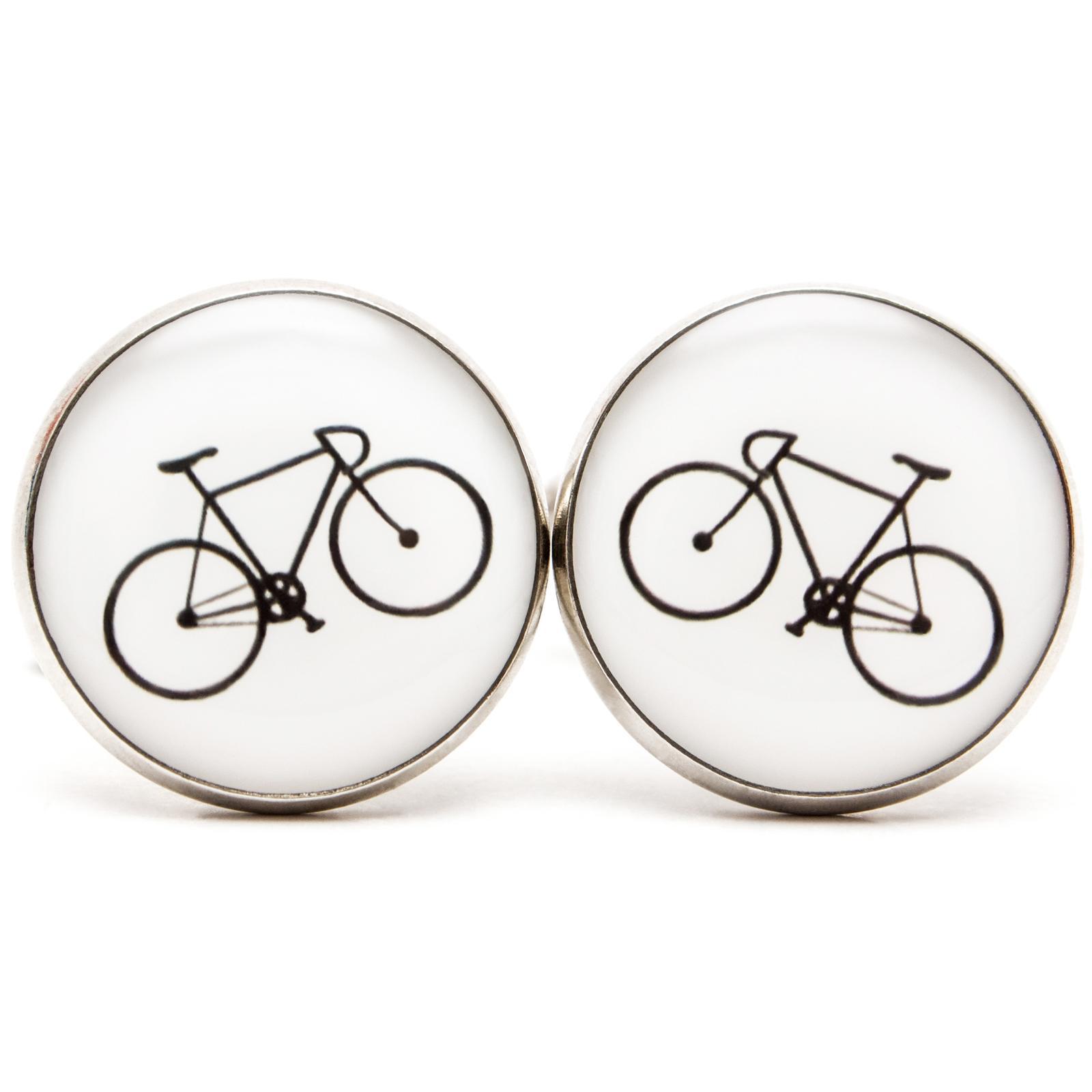 ♥  Manžetové gombíky na mieru - presne podľa Tvojich predstáv ♥ - Simple Bicycle