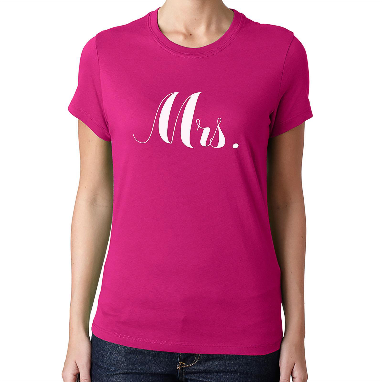 Nevestička a Ženích ♥ - trička na želanie podľa vlastných predstáv - Mrs. 1