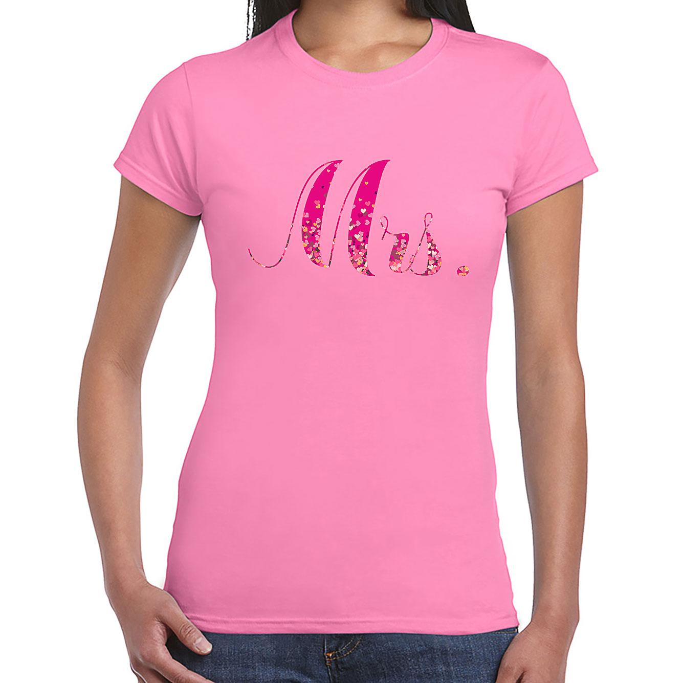 Nevestička a Ženích ♥ - trička na želanie podľa vlastných predstáv - Mrs. 2