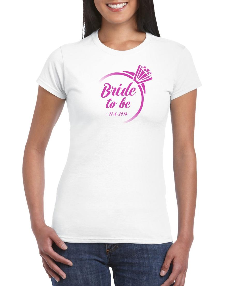 Nevestička a Ženích ♥ - trička na želanie podľa vlastných predstáv - Obrázok č. 46