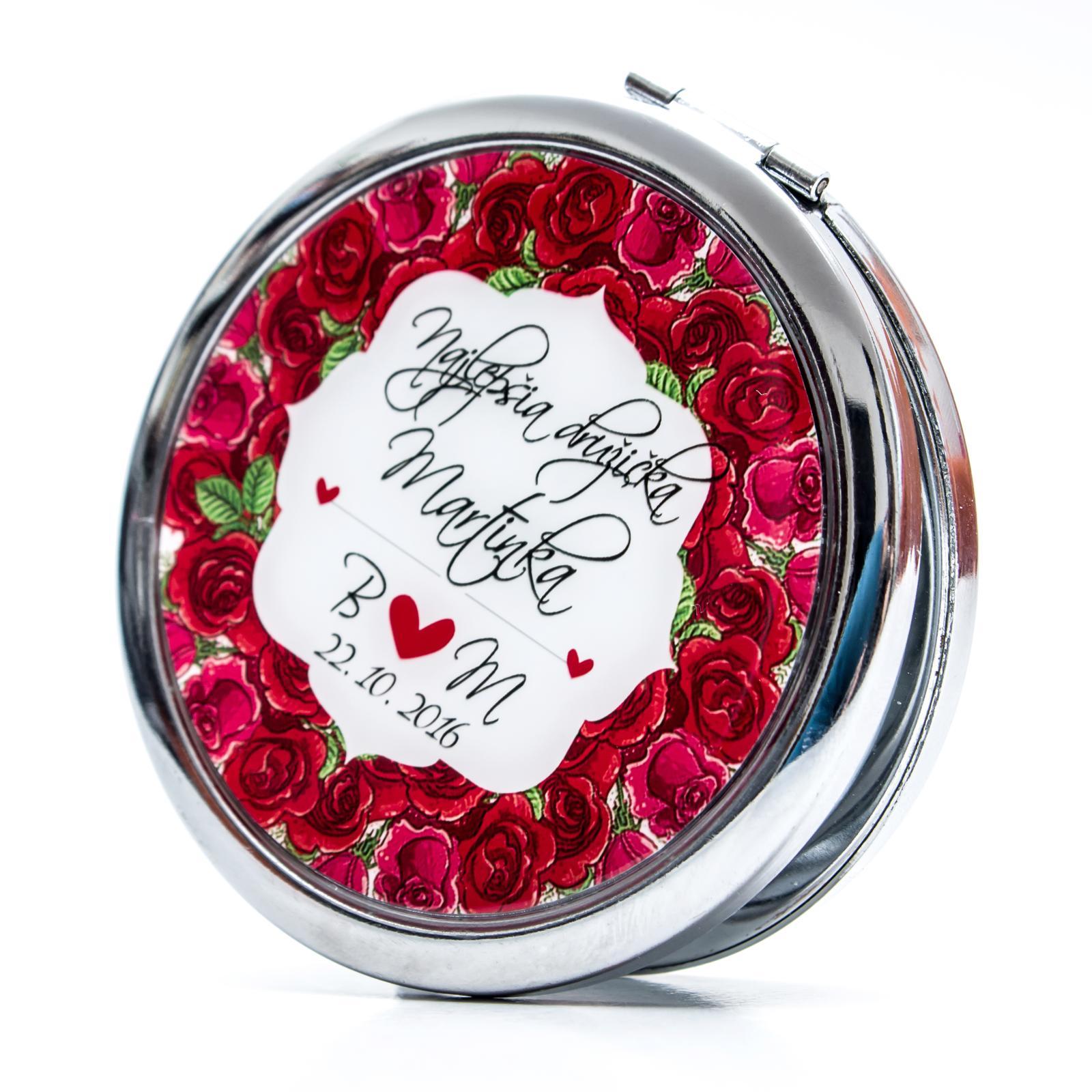 Zrkadielka na želanie - Zrkadielko pre najlepšiu družičku