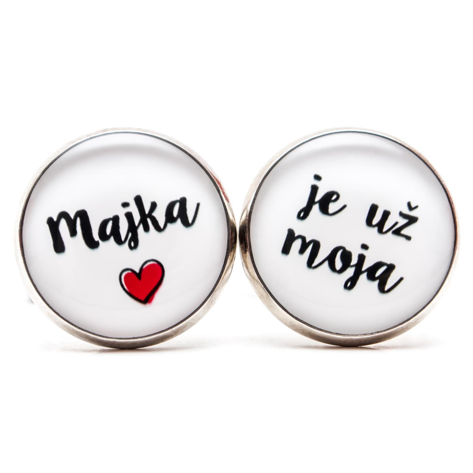 ♥  Manžetové gombíky na mieru - presne podľa Tvojich predstáv ♥ - ... už je moja