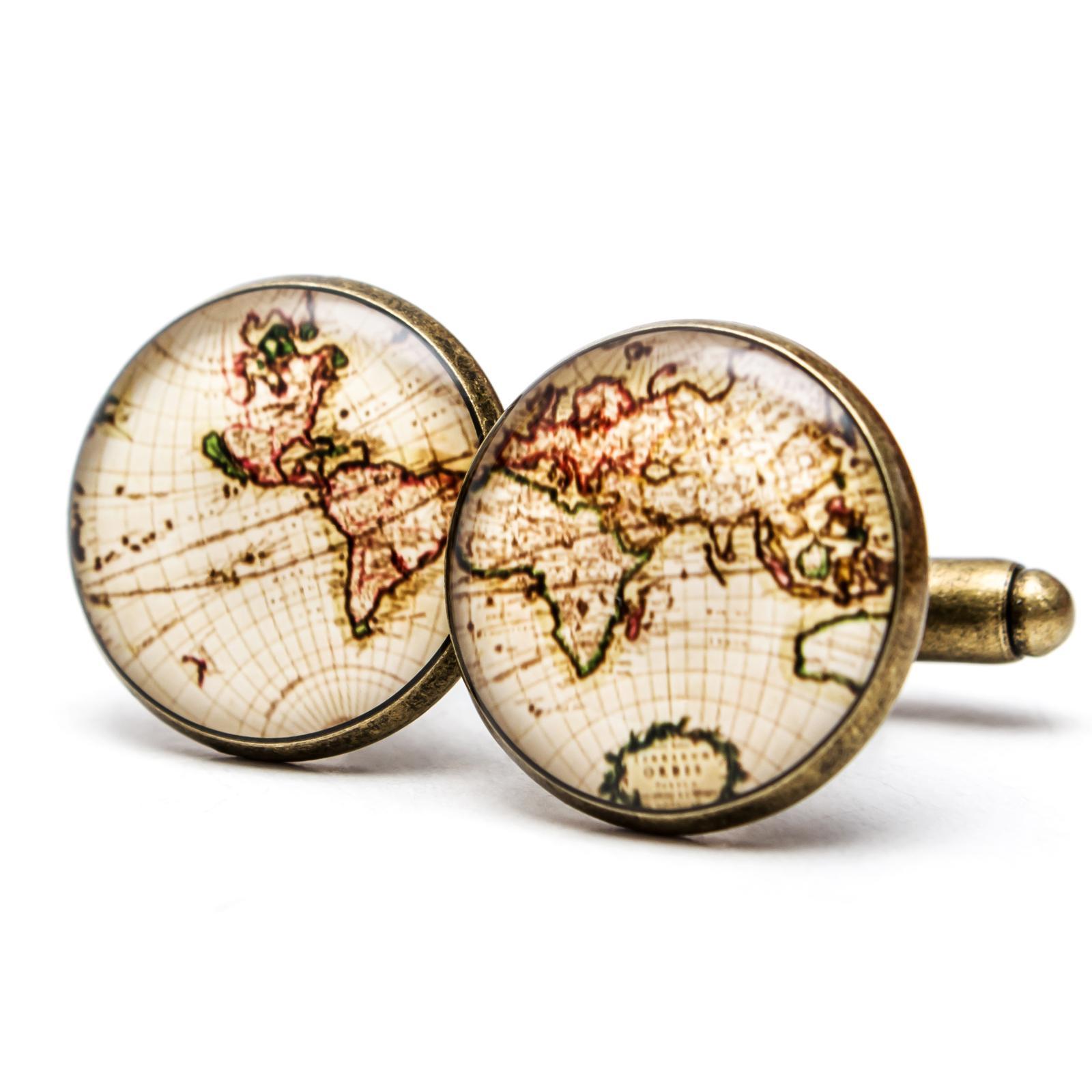 ♥  Manžetové gombíky na mieru - presne podľa Tvojich predstáv ♥ - Objavuj svet