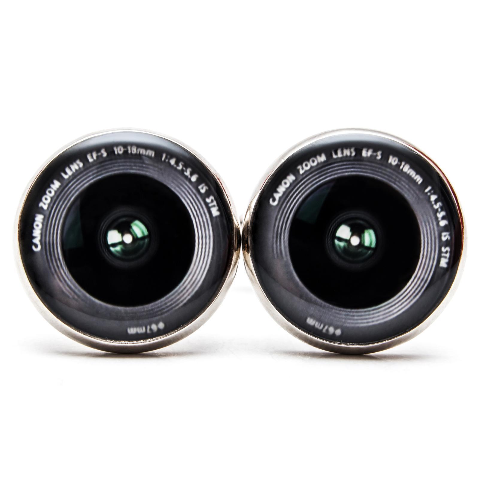 ♥  Manžetové gombíky na mieru - presne podľa Tvojich predstáv ♥ - Manžetky pre vášnivého fotografa
