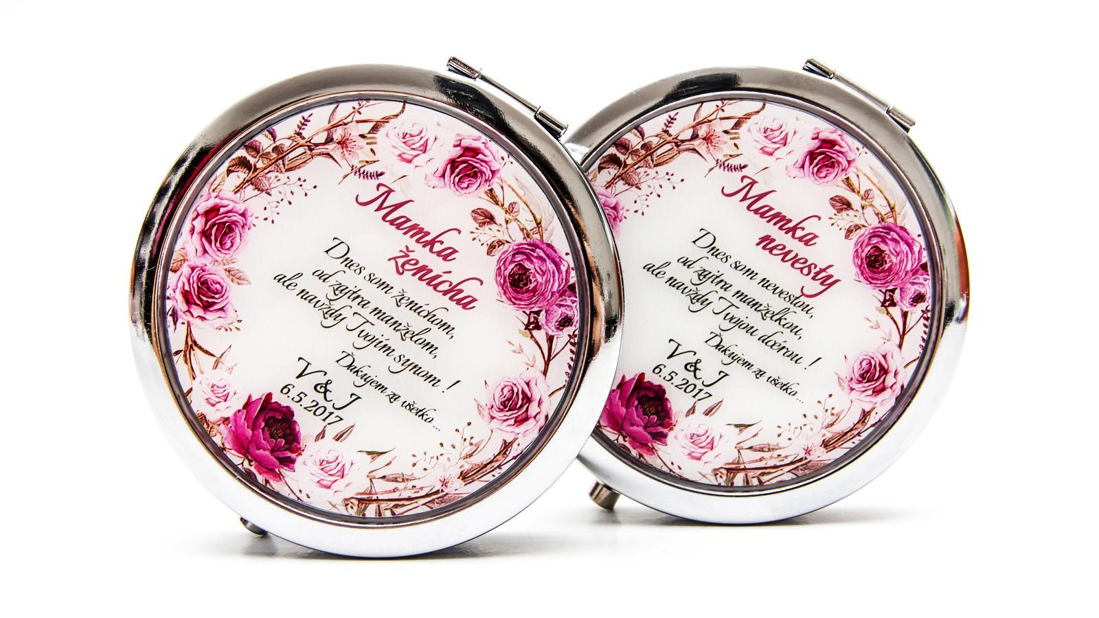 Zrkadielka na želanie - Mamka nevesty a ženícha