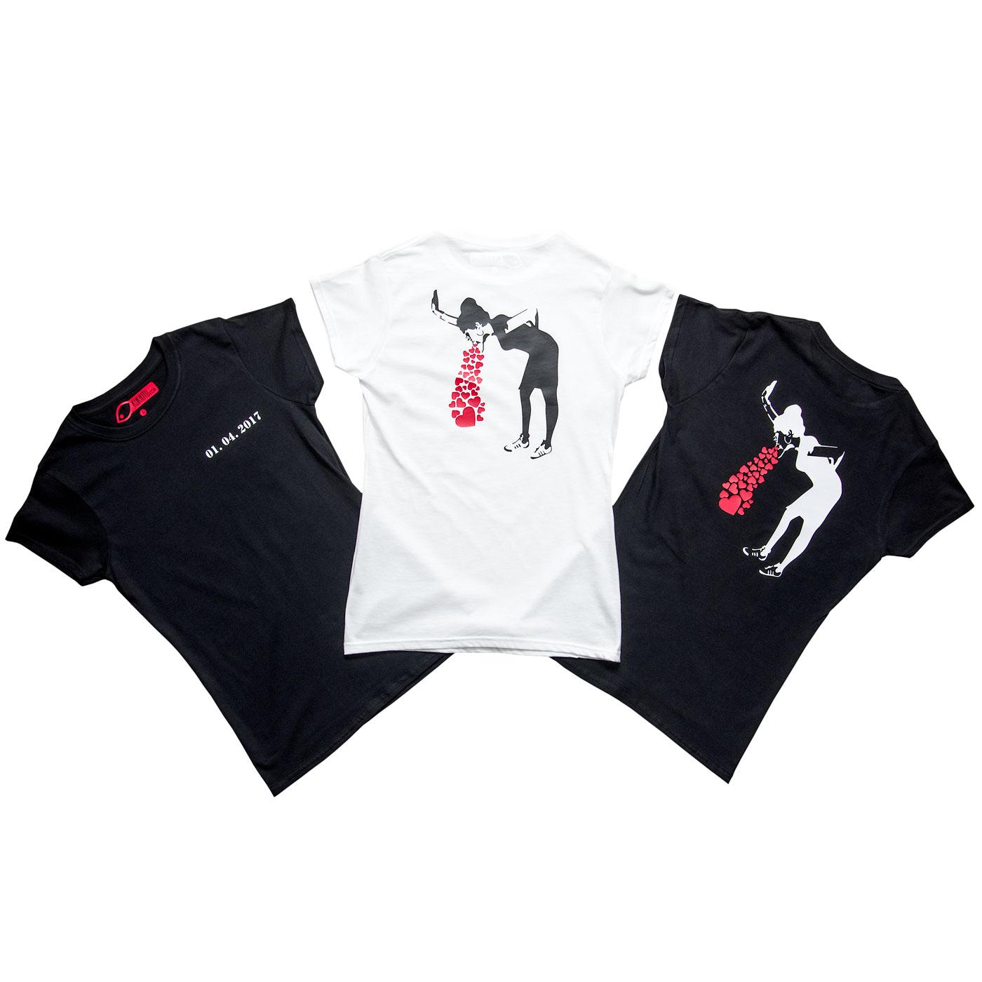 Nevestička a Ženích ♥ - trička na želanie podľa vlastných predstáv - Tričká na rozlúčku so slobodou :)