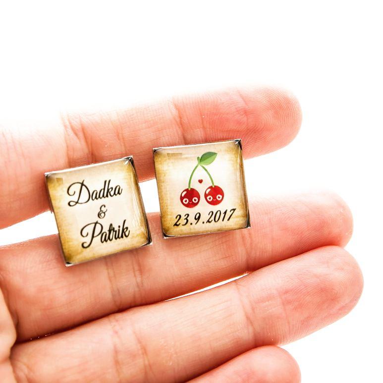 ♥  Manžetové gombíky na mieru - presne podľa Tvojich predstáv ♥ - Obrázok č. 49