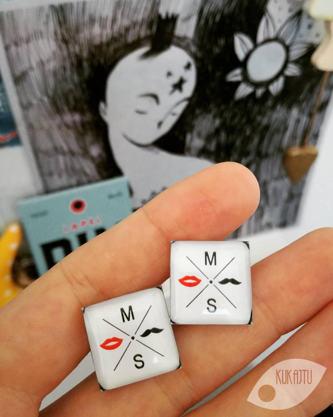 ♥  Manžetové gombíky na mieru - presne podľa Tvojich predstáv ♥ - Obrázok č. 38