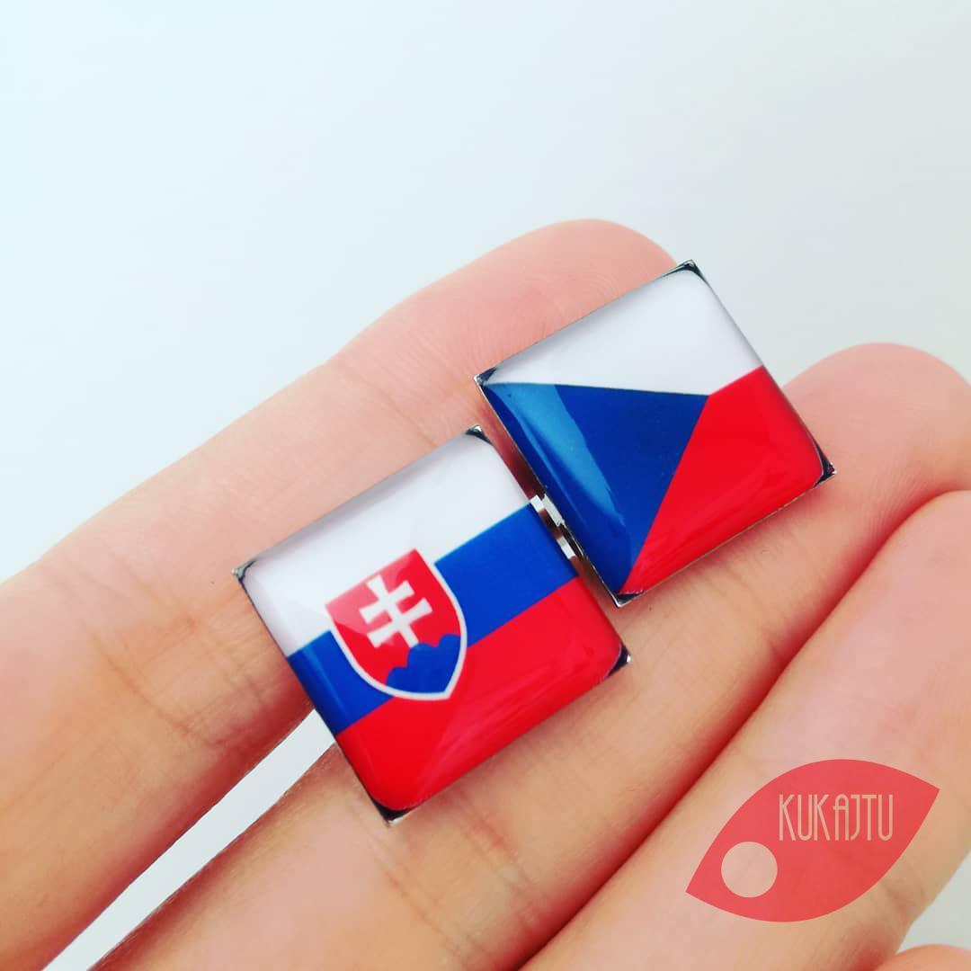 ♥  Manžetové gombíky na mieru - presne podľa Tvojich predstáv ♥ - česko - slovenské manžetové gombíky