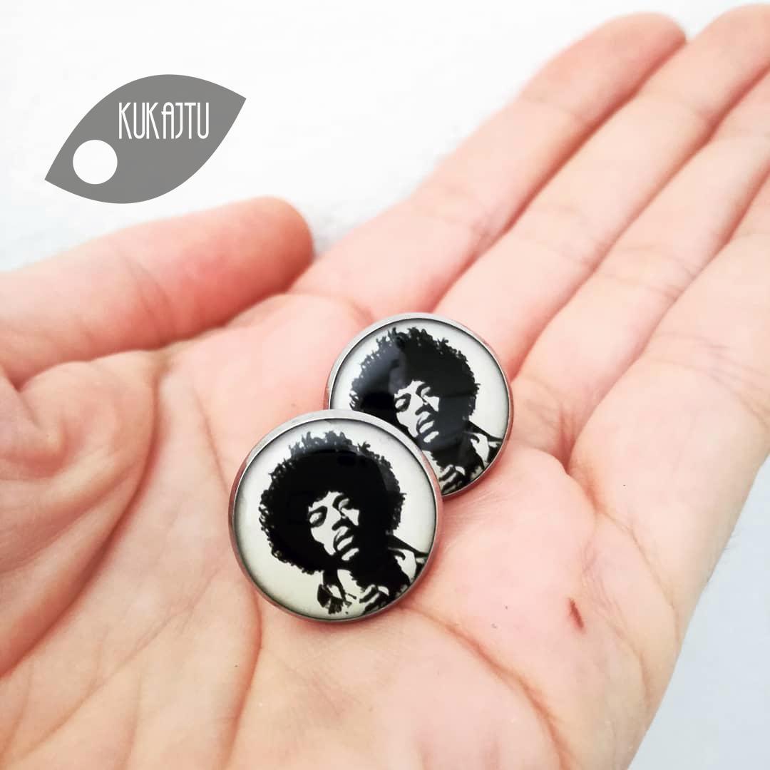 ♥  Manžetové gombíky na mieru - presne podľa Tvojich predstáv ♥ - Jimmy Hendrix