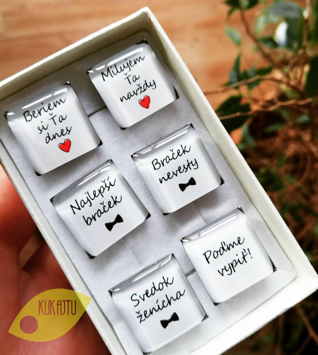 ♥  Manžetové gombíky na mieru - presne podľa Tvojich predstáv ♥ - Manžetky podľa želania