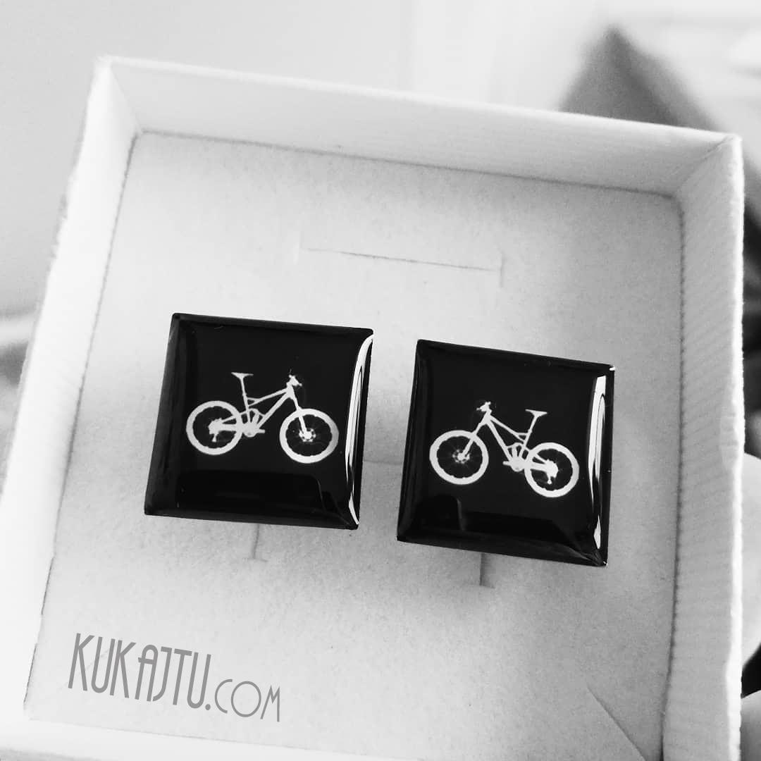 ♥  Manžetové gombíky na mieru - presne podľa Tvojich predstáv ♥ - Bike manžetky