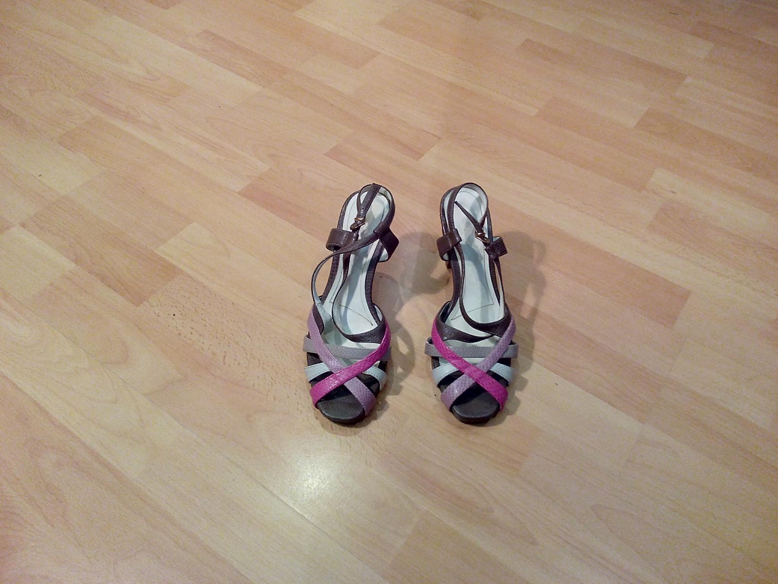 farebne sandale - Obrázok č. 1