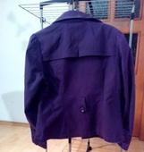 fialovy kabatik, 40