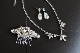svatební sada šperků..