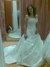 a ešte raz moje šaty (la sposa model fuego)