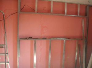 a sadrokartónová stena
