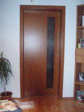 a nové dvere do spálne
