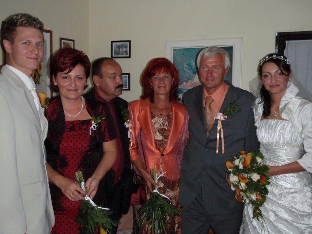 Lucia Gabrišová{{_AND_}}Michal Rehák - ....s rodicmi....
