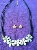 Súprava náhrdelník a náušnice,