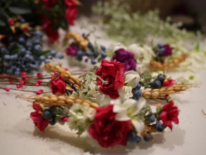 Kvety, folklór,... - sashe