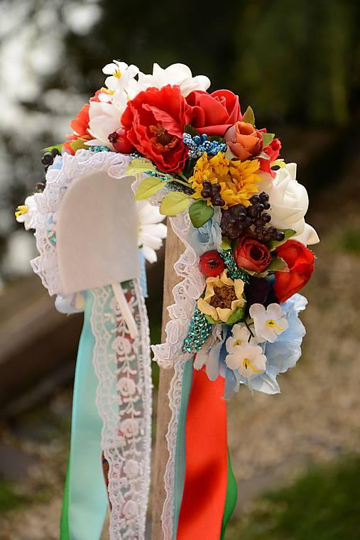 Kvety, folklór,... - http://www.sashe.sk/miselkatt/detail/parta-by-michelle-flowers-201