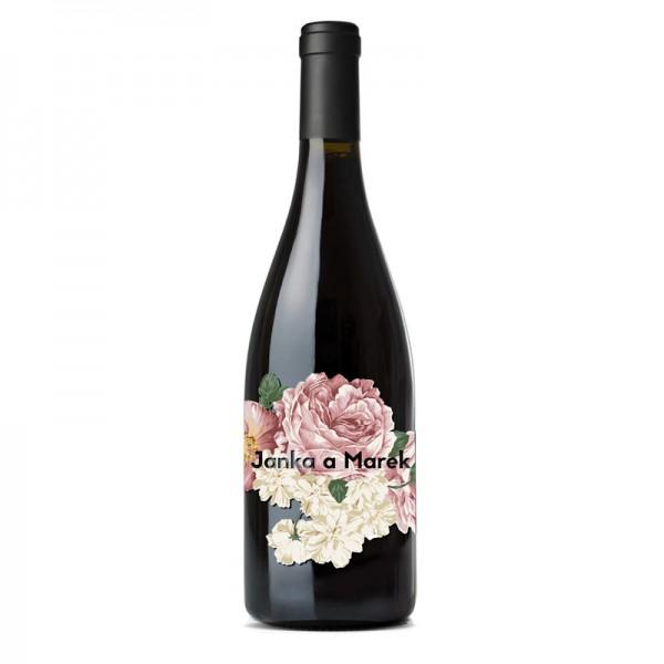 Kvety, folklór,... - http://www.mladucha.sk/produkt/etiketa-romantic/