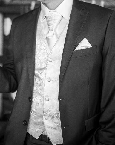 svadobná vesta, kravata, servítka - Obrázok č. 2