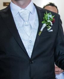 svadobná vesta, kravata, servítka - Obrázok č. 4