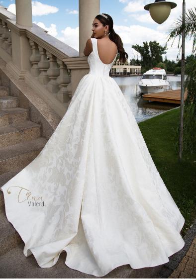 svadobné šaty Tina Valerdi - Obrázok č. 3