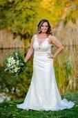 Svadobné šaty LINN od značky Hadassa, 42