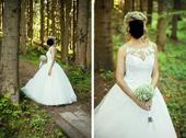 Svadobné šaty - šité na mieru, 36