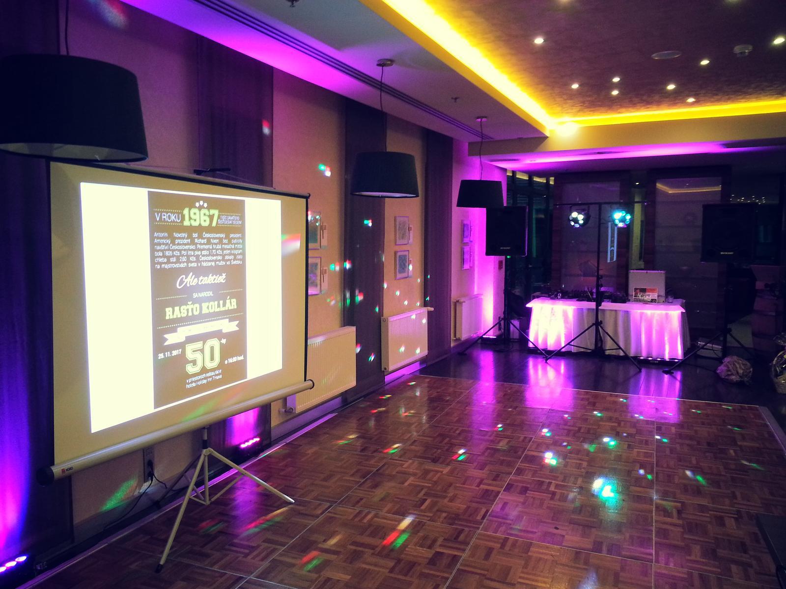 dj_erni - Narodeninová oslava v Holiday Inn Trnava - super oslávenec s rodinou aj gratulanti