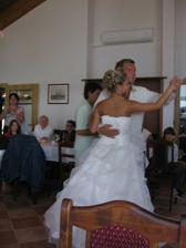 Náš první tanec a to doslova - byl i první v životě