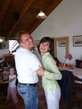 Brácha s manželkou Mirunkou