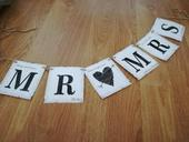 Girlanda Mr&Mrs,