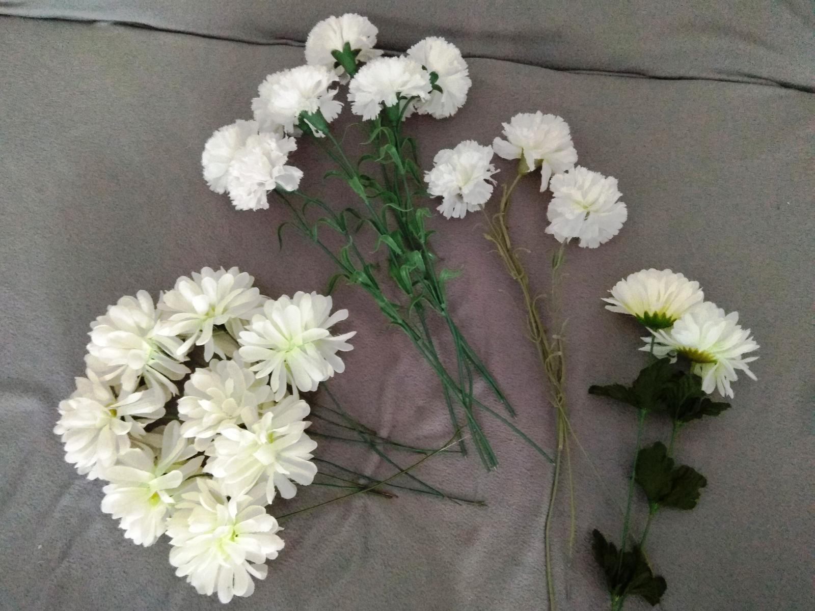 Umělé květiny na výzdobu - Obrázek č. 1
