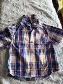 Frajerská košile s krátkým rukávem zn Rebel, 86