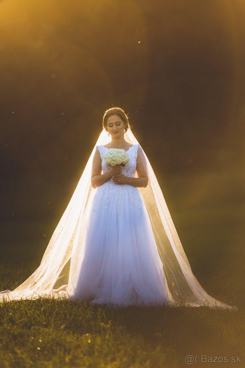 Svadobné šaty 160cm - Obrázok č. 4
