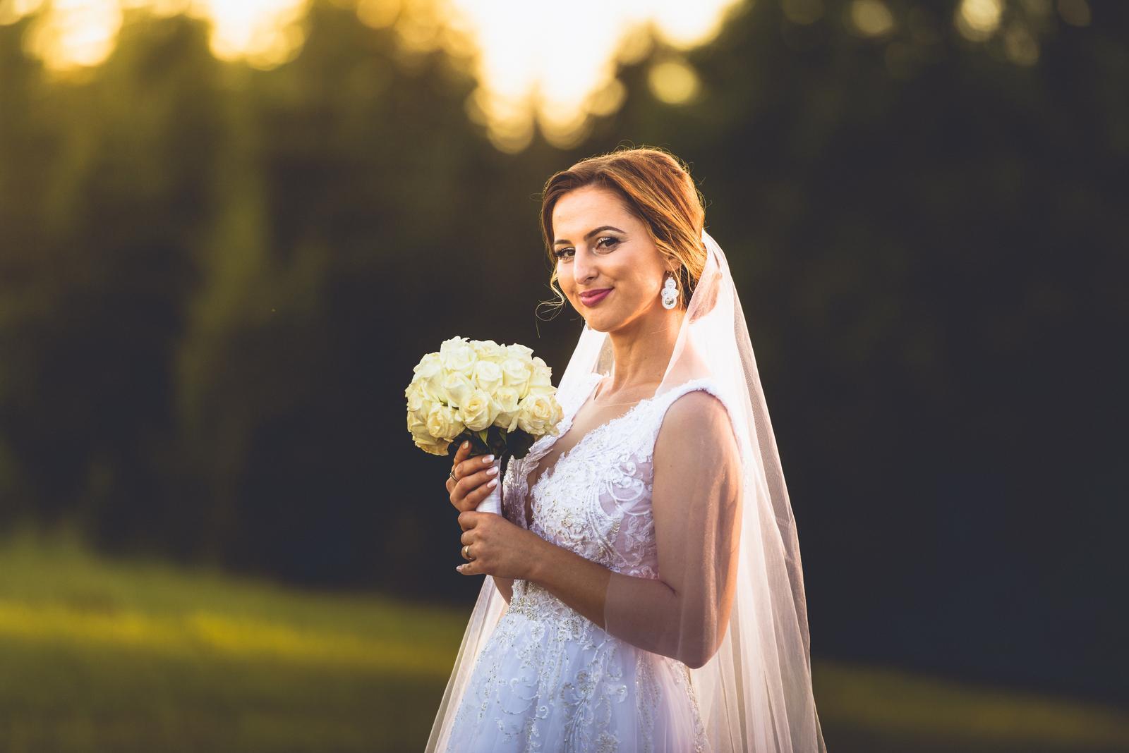 Svadobné šaty 160cm - Obrázok č. 1