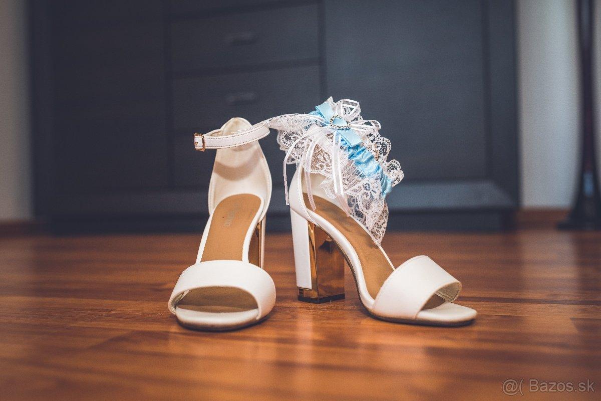Svadobné topánky č.36 - Obrázok č. 1