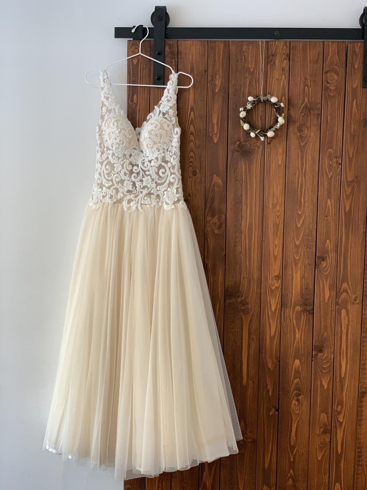 Luxusní svatební šaty návrhářky Kotapské - Obrázek č. 1