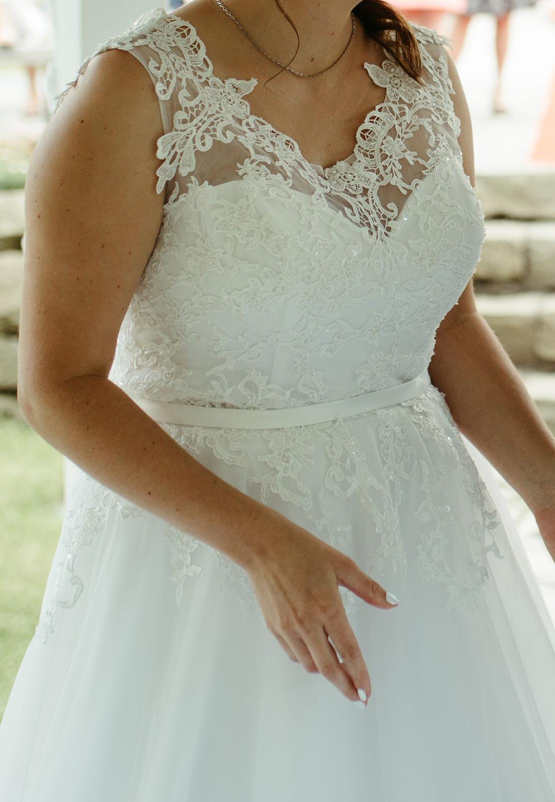 Svatební šaty Ivory, vel. 42-46 - Obrázek č. 1