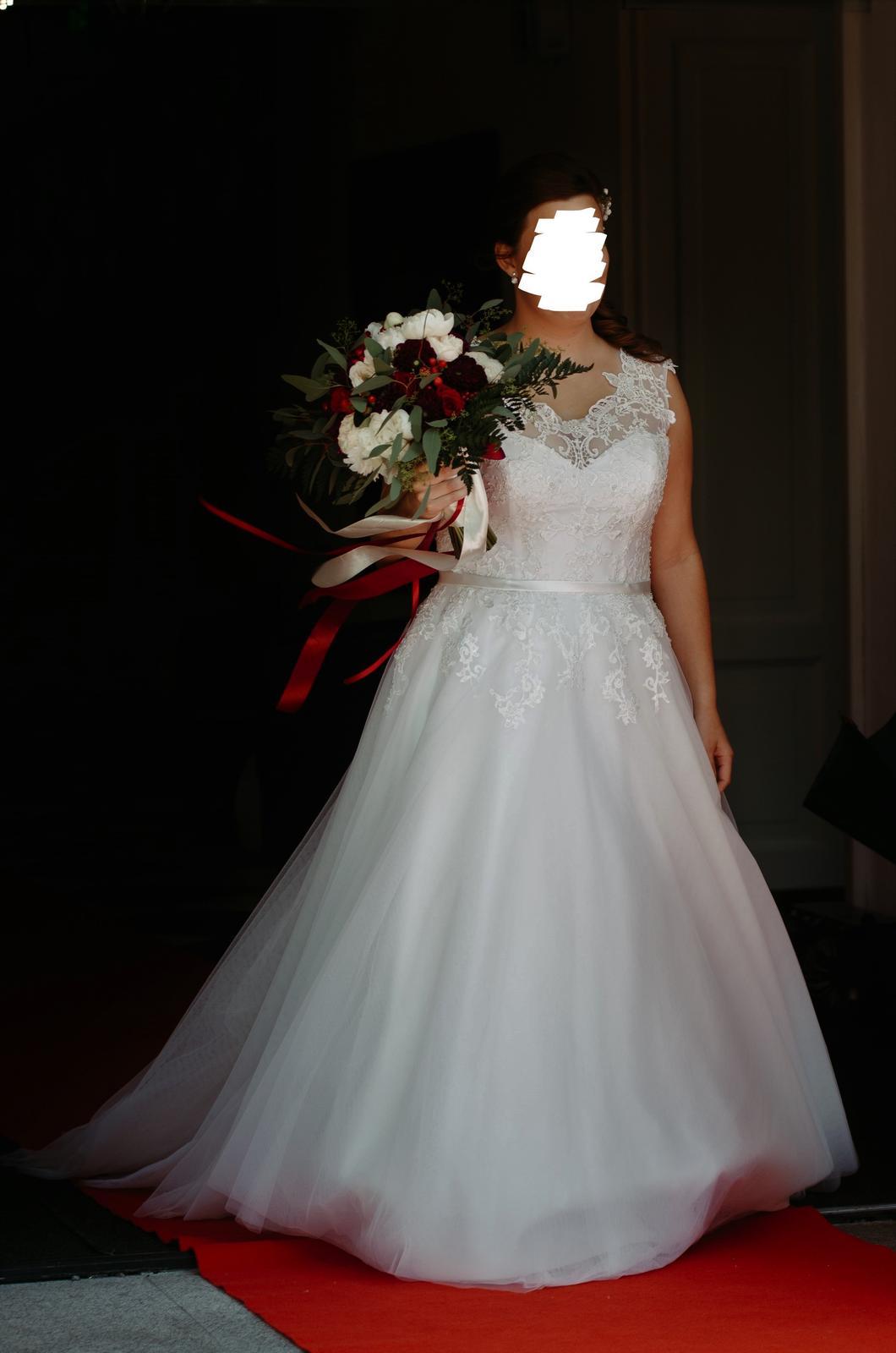 Svatební šaty Ivory, vel. 42-46 - Obrázek č. 2