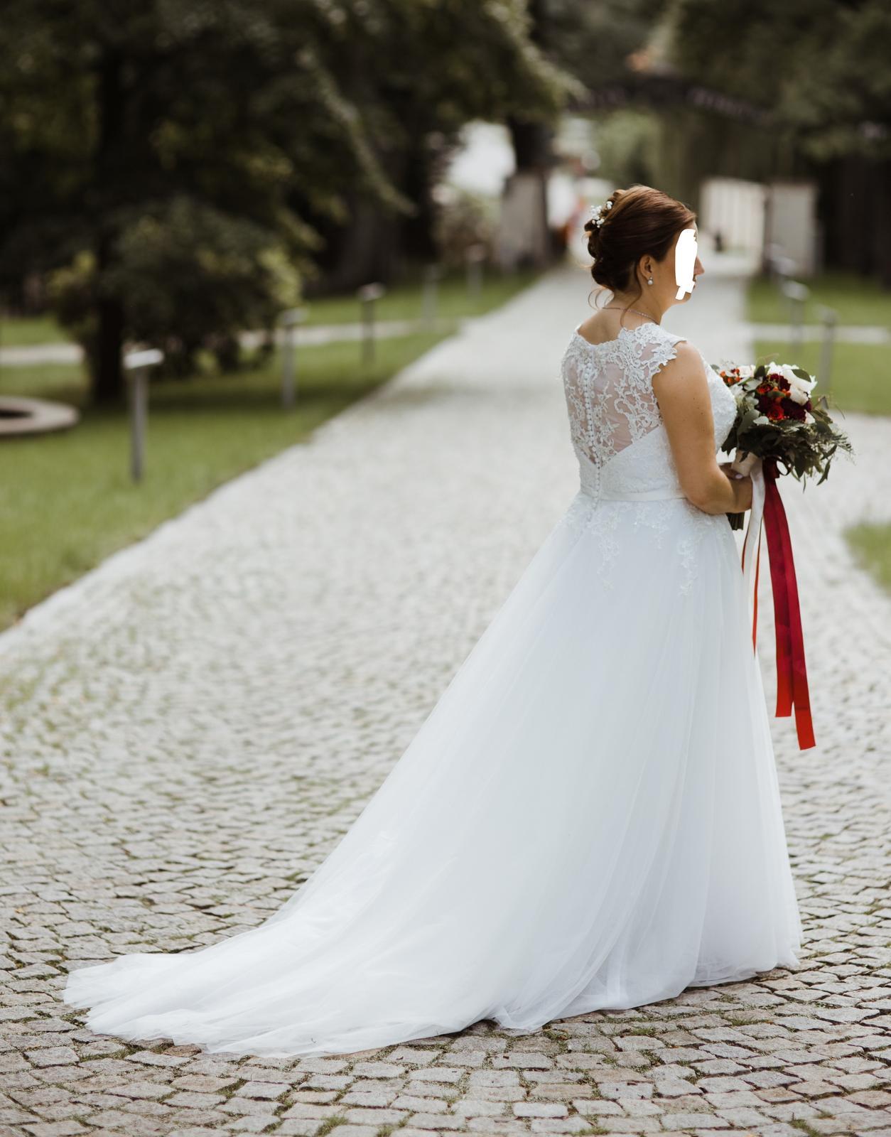 Svatební šaty Ivory, vel. 42-46 - Obrázek č. 3