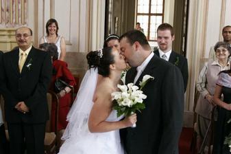 A je to. Jsem vdaná paní.