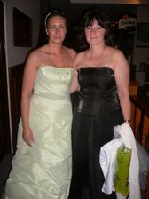 Sestra s mamkou.